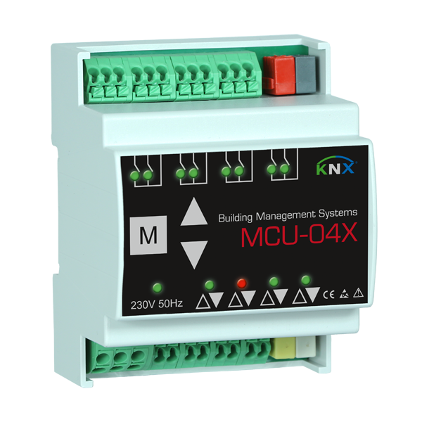 MCU-04X motor control unit 4 channels KNX