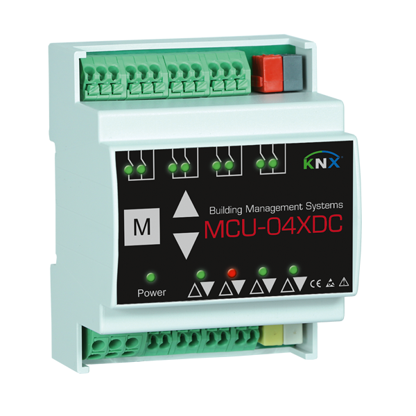 MCU-04X DC motor control unit 4 channels KNX