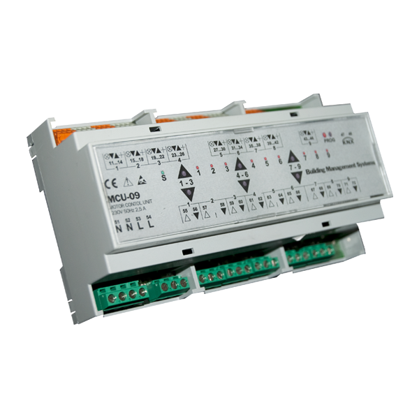 MCU-09 Actuator 9 channels KNX