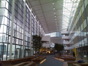 Herzstück der Siemens-Zentrale