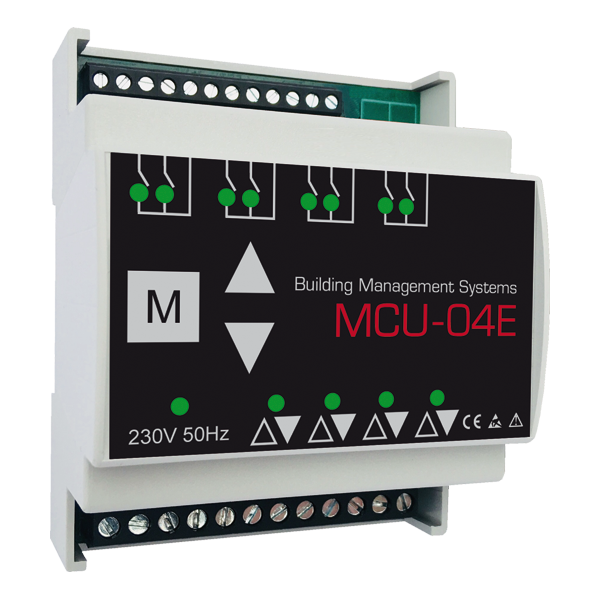 MCU-04E Erweiterungsmodul 4 Kanäle