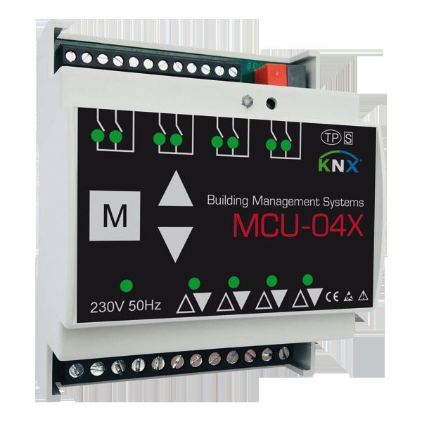 MCU-04X Motorsteuerung 4 Kanäle KNX
