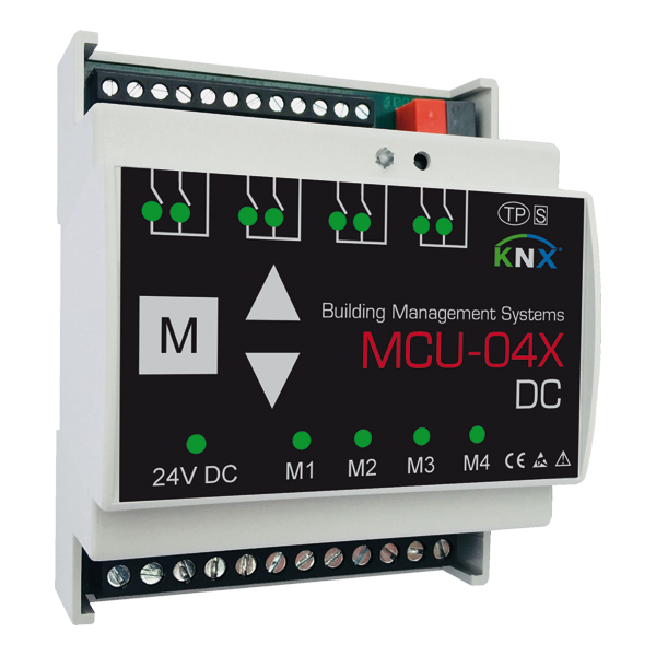 MCU-04X DC Motorsteuerung 4 Kanäle KNX