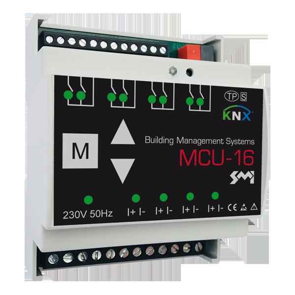 MCU-16 SMI – SMI Jalousieaktor KNX