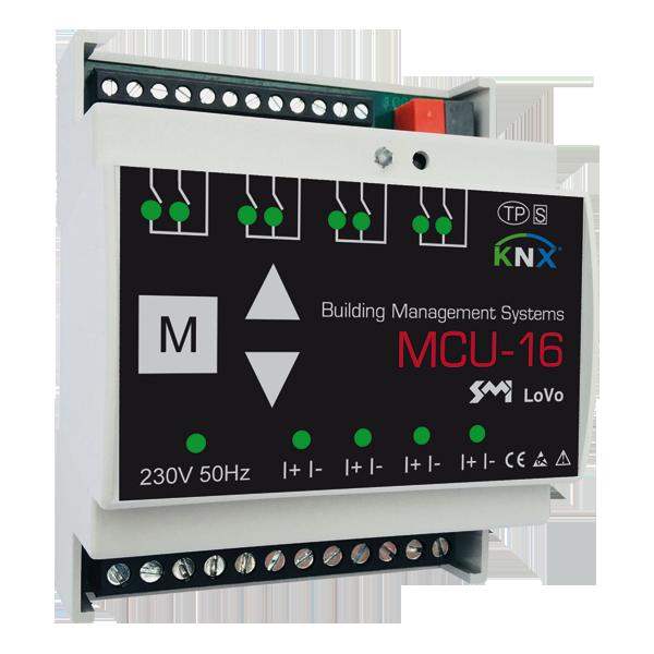 MCU-16 SMI LoVo – SMI blind actuator KNX